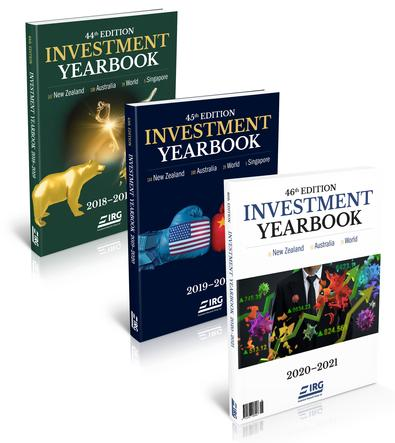 46th, 45th and 44th IRG Investment Yearbook cover