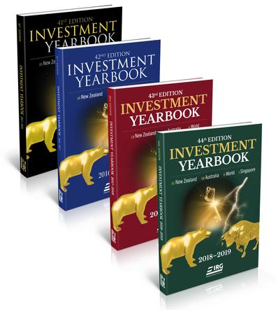 44th, 43rd, 42nd and 41st IRG Investment Yearbook cover