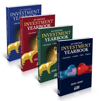 45th, 44th, 43rd and 42nd IRG Investment Yearbook cover