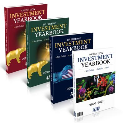 46th, 45th, 44th and 43rd IRG Investment Yearbook cover