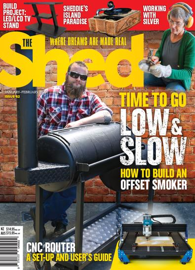 The Shed magazine cover