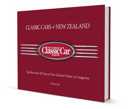 Classic Cars of New Zealand cover