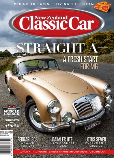 New Zealand Classic Car magazine cover