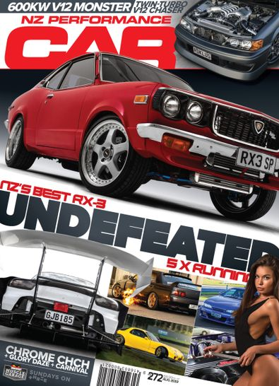 NZ Performance Car Magazine cover