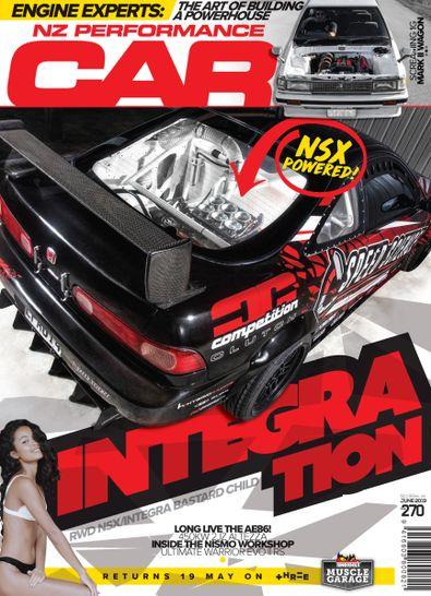 NZ Performance Car Magazine cover