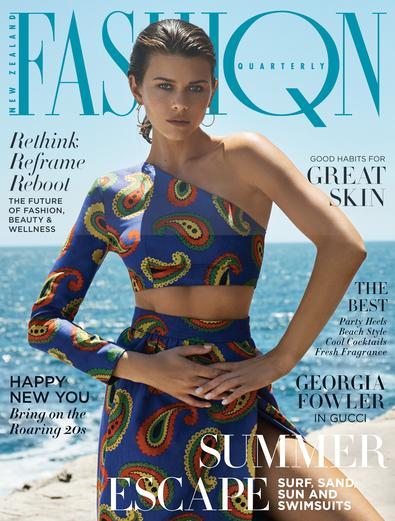 Georgia Fowler | Fashion Quarterly | 2018 Cover | Rainbow
