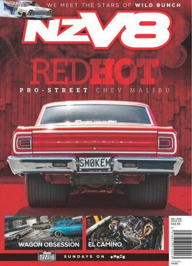 NZV8 magazine cover