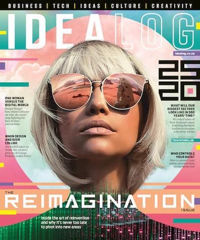 Idealog magazine cover