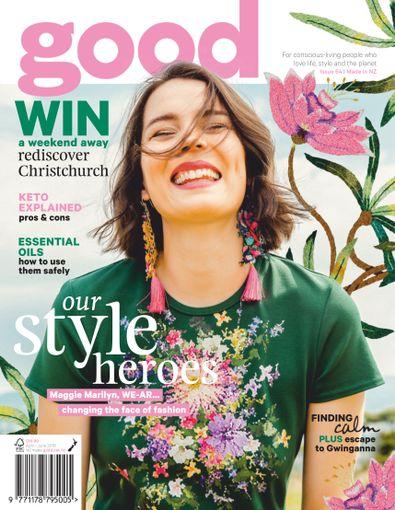 Good magazine cover