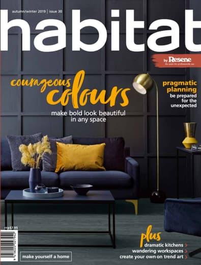 Habitat magazine cover