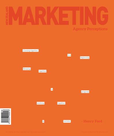 NZ Marketing Magazine cover