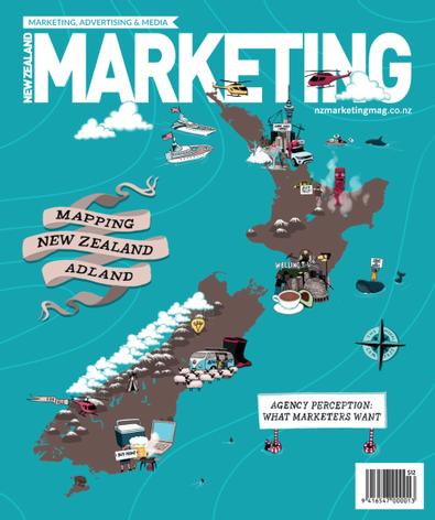 NZ Marketing Magazine cover