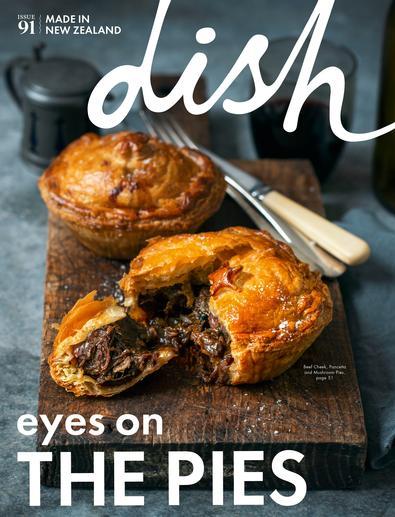 Dish magazine cover