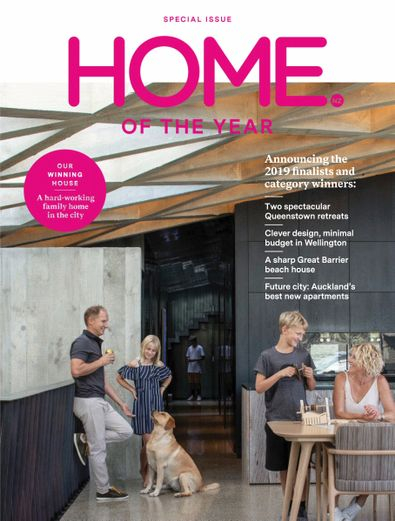 HOME New Zealand magazine cover
