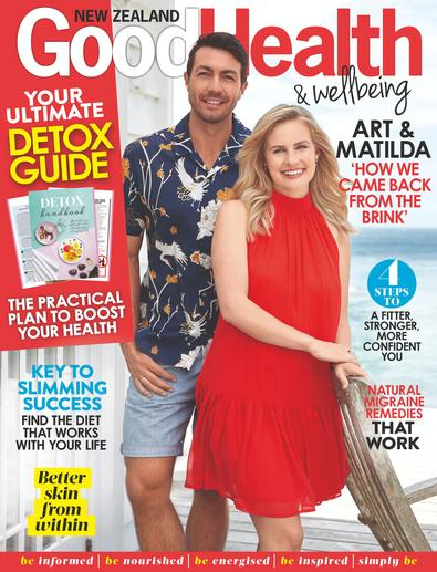 Good Health & Wellbeing magazine cover