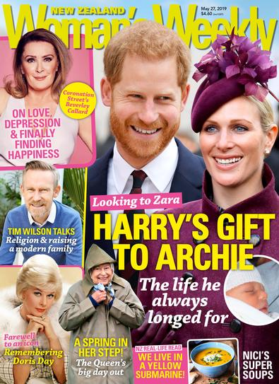 New Zealand Woman's Weekly magazine cover