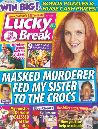 Lucky Break magazine cover