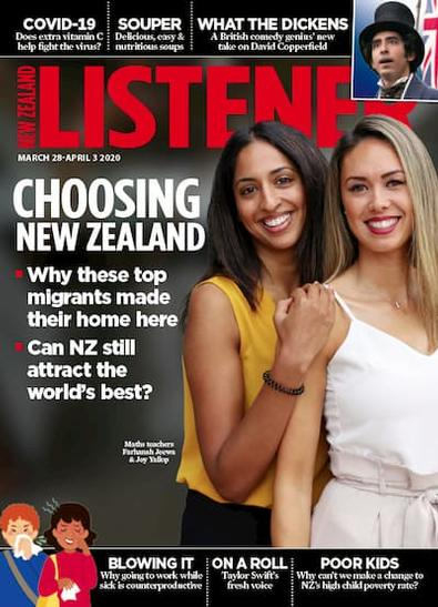 New Zealand Listener magazine cover