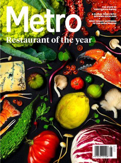 Metro magazine cover