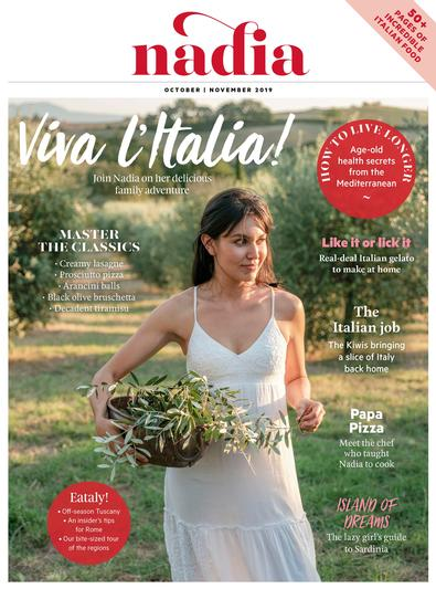 NADIA magazine cover