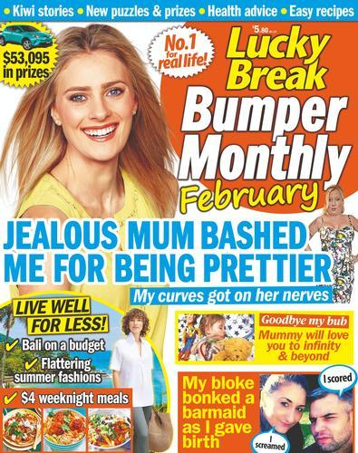 Lucky Break Bumper Monthly magazine cover