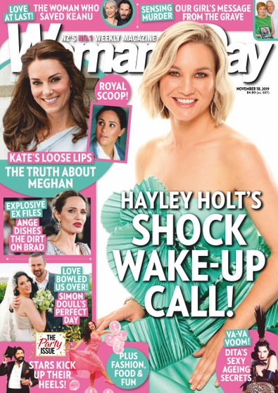 Woman's Day (NZ) magazine cover