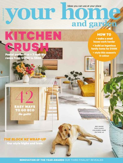 Your Home and Garden magazine cover