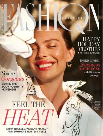 Fashion Quarterly magazine cover