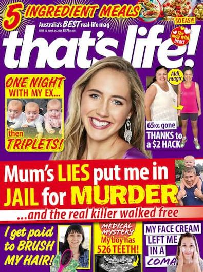 That's Life! (NZ) magazine cover