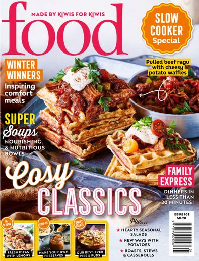 Food Magazine cover