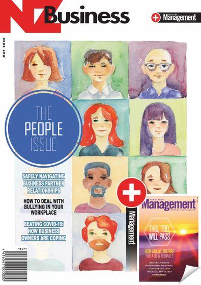 NZBusiness + Management magazine cover
