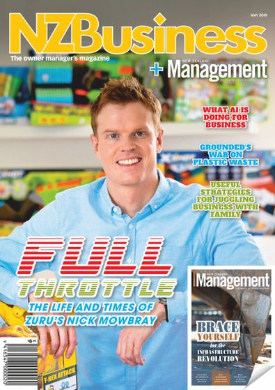 New Zealand Business + Management magazine cover