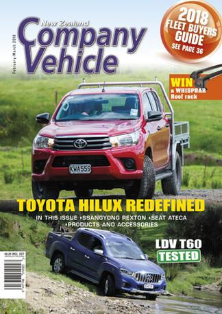 New Zealand Company Vehicle magazine cover