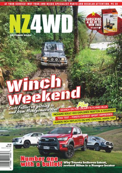 New Zealand 4WD Magazine cover