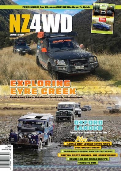 New Zealand 4WD Magazine cover