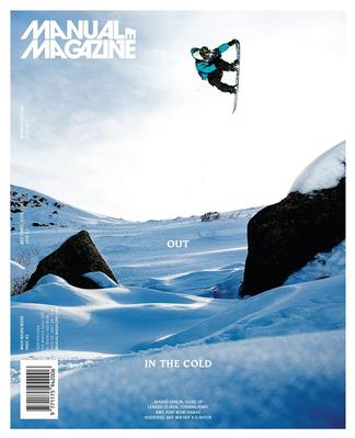 Manual: Skateboarding and Snowboarding magazine cover