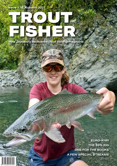 Trout Fisher magazine cover