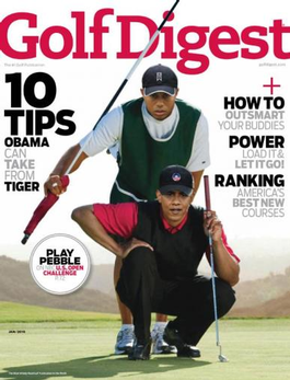 Golf Digest (US) magazine cover