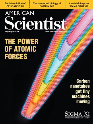 American Scientist (US) magazine cover