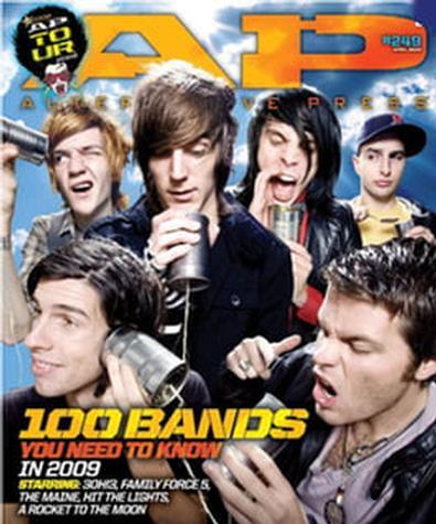 AP - Alternative Press (US) magazine cover