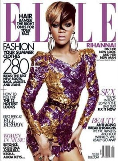 Elle (US) magazine cover
