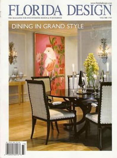 Florida Design (US) magazine cover