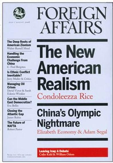 Foreign Affairs (US) magazine cover