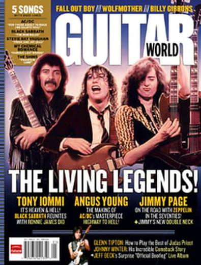 Guitar World (US) magazine cover