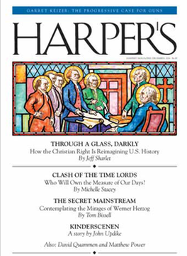 Harpers (US) magazine cover