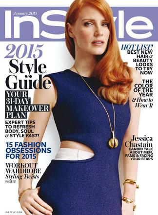 In Style (US) magazine cover