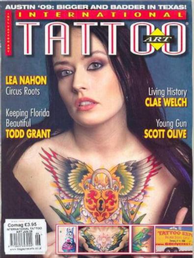 International Tattoo Art (US) magazine cover