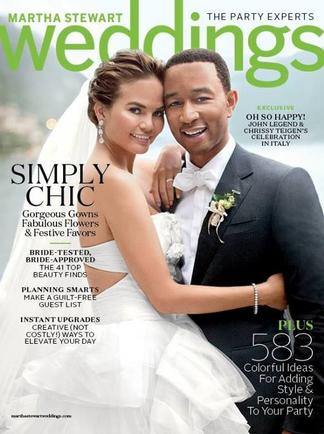 Martha Stewart Weddings (US) magazine cover