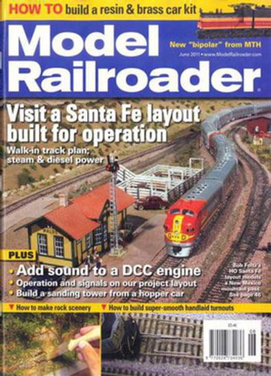 Model Railroader (US) magazine cover