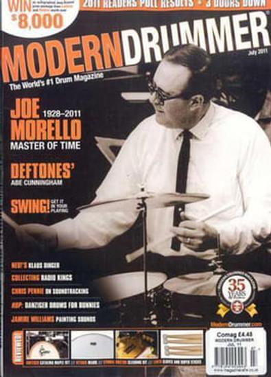 Modern Drummer (US) magazine cover